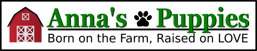 Anna's Puppies web logo